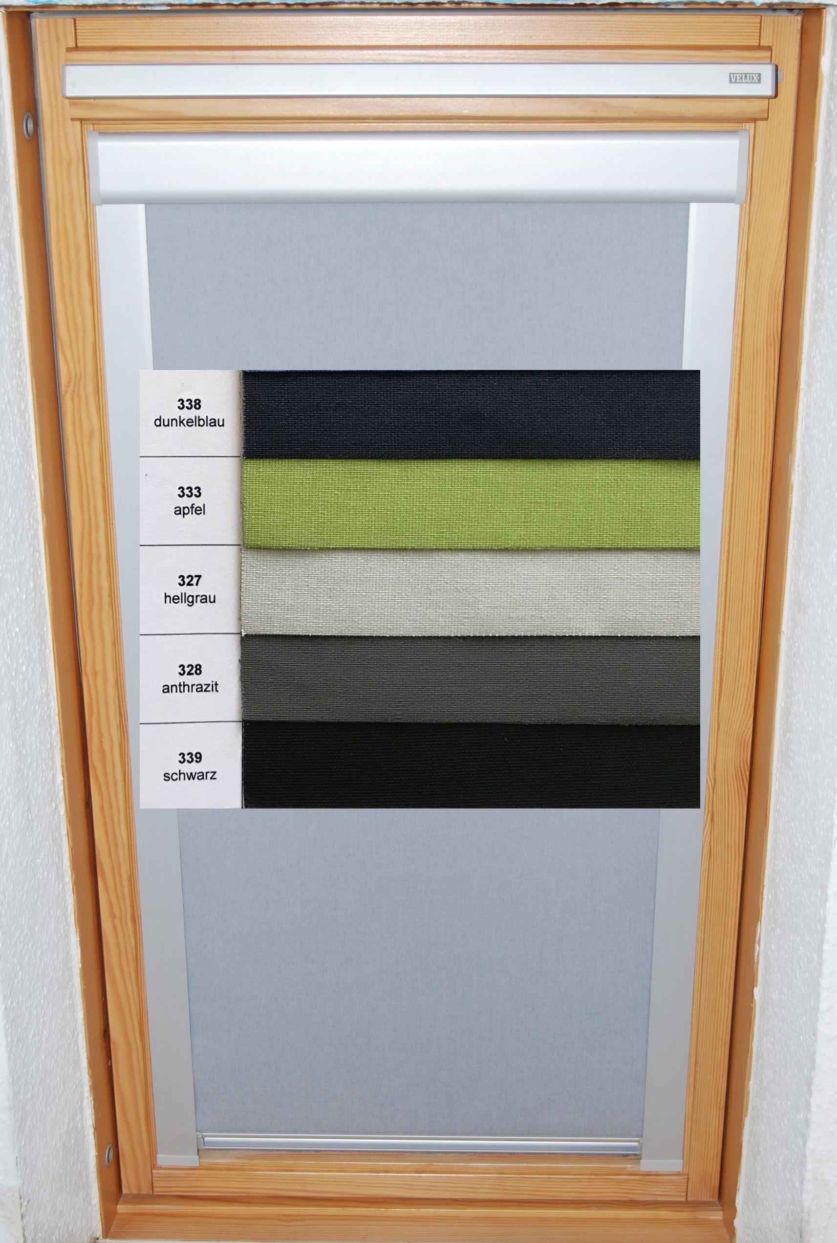 dachfenster rollos f r original velux fenster. Black Bedroom Furniture Sets. Home Design Ideas