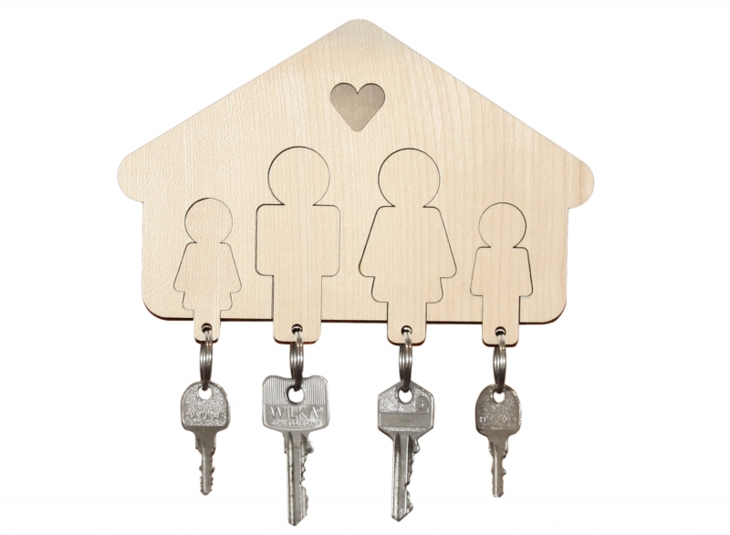 schl sselbrett home sweet home familie design im dorf. Black Bedroom Furniture Sets. Home Design Ideas